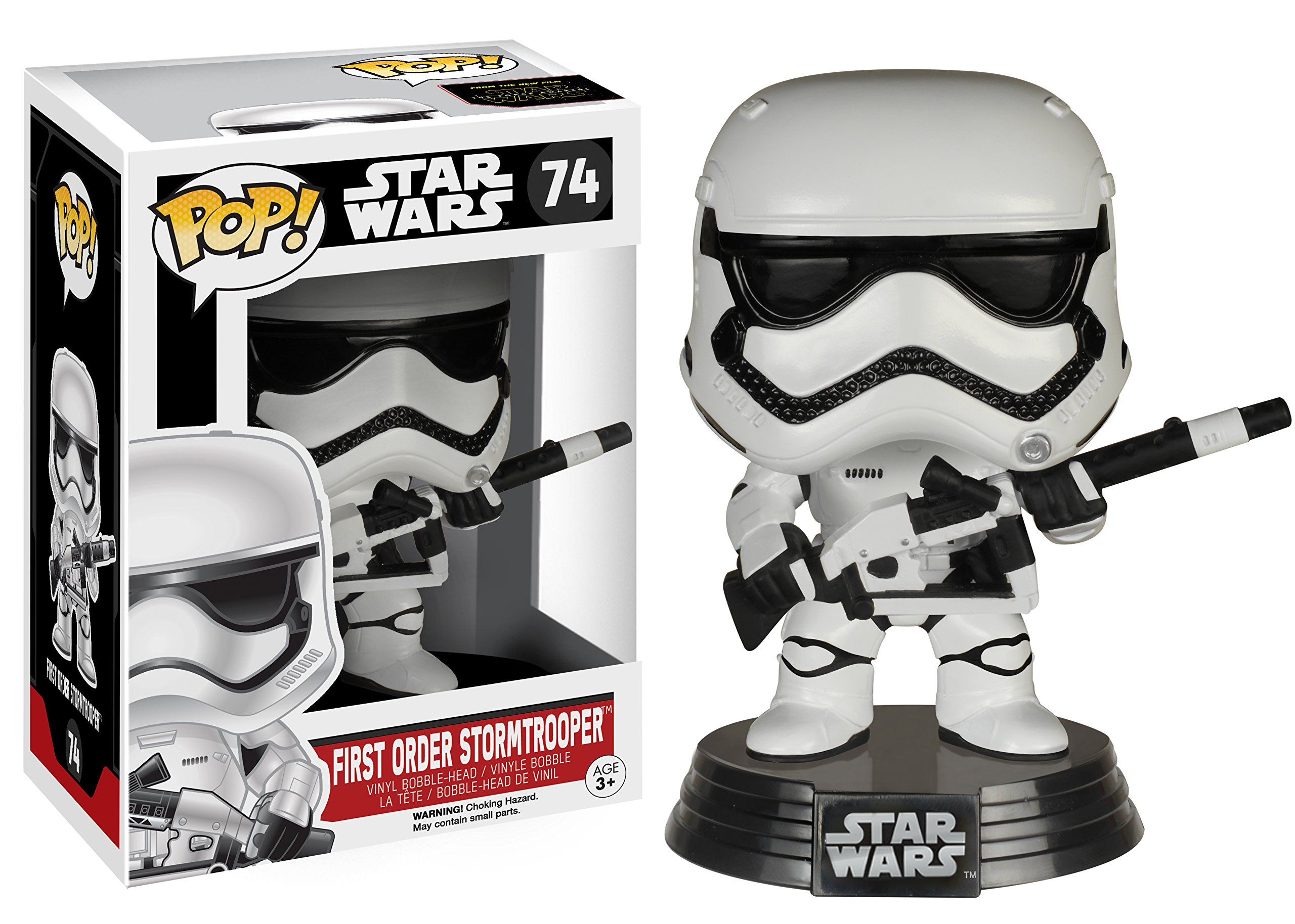 Funko Pop Stormtrooper Primera Orden con arma (Star Wars 74) Funko Pop Star Wars