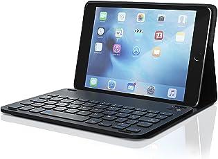 CSL - iPad Mini 4 Tastatur mit Kunststoffcase 7,9 Zoll | Schutzhülle/Tasche / Cover/Case | Lightweight Design | Multimedia-Funktionstasten | QWERTZ-Layout (Deutsch) | Bluetooth Keyboard