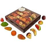 """Frutti di pasta di """"pasta reale"""" (martorana o marzapane siciliano) in splendida confezione regalo (gr.250)"""