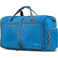 Gonex 60L Borsa da Viaggio Borsoni Pieghevole Impermeabile per Viaggio Sport Palestra Campeggio Bagaglio a Mano Tracolla…
