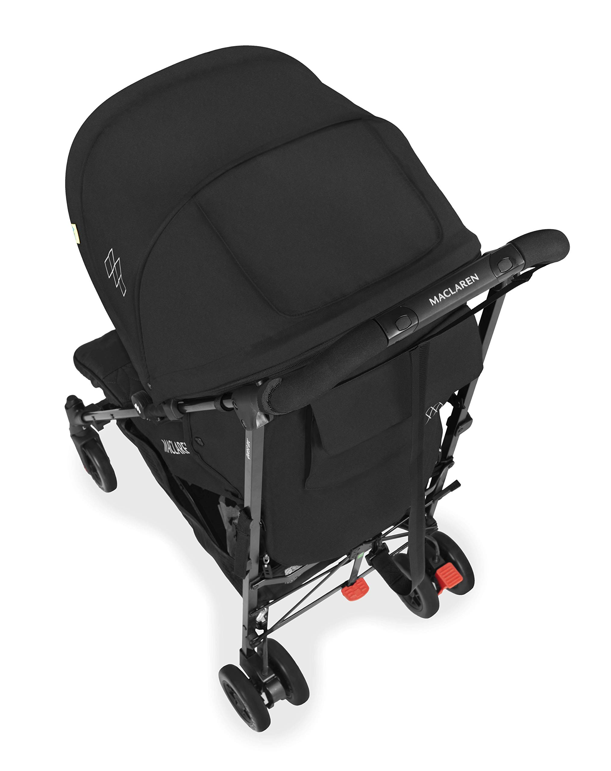 Maclaren Quest Arc Stroller- Ideal for Newborns up to 25kg with extendable UPF 50+/Waterproof Hood, Multi-Position seat and 4-Wheel Suspension. Maclaren Carrycot Compatible. Accessories in The Box Maclaren Lightweight and compact. ideal for newborns and children up to 25kg. you can do it all with one-hand- open, close, push and adjust the seat, footrest and front safety lock Comfy and perfect for travel. the quest arc's padded seat reclines into 4 positions and converts into a new-born safety system. coupled with ultra light flat-free eva tires and all wheel suspension Smart product for active parents. compatible with the maclaren carrycot. all maclaren strollers have waterproof/ upf 50+ hoods to protect from the elements and machine washable seats to keep tidy 5