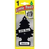 Air Freshener - LITTLE TREES Tree - Black Ice Fragrance MTR0004- for Car Home - 1 Unit