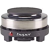 BEPER P101PIA002 Plaque chauffante électrique, Noir/Gris