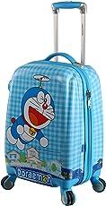 Disney ABS 46 Cms Light Blue Doremon Design Hard Sided Children's Luggage