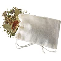 Kitchen Craft Home Made Spice Bags for Cooking, Loose Tea and Mulled Wine, Muslin, Pack of 4 Reusable Bouquet Garni…
