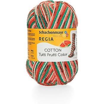 """Schachenmayr,Regia,Sockenwolle,/""""Tutti Frutti Color/"""",Melone,Vegan,02421"""