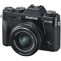 Fujifilm X-T30 Black e Obiettivo XC15-45mm F3.5-5.6 OIS PZ, Fotocamera Digitale da 26MP, Sensore CMOS X-Trans 4 APS-C…