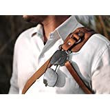 Ledereign India Leather Solo Camera Strap Now with Snap Shackle Hooks | Perfect for Single Camera | Cross Body Design | (Clas