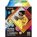 instax SQUARE Rainbow border film, 10 shot pack