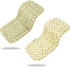 Morbido & reversibile bambino in puro cotone per passeggino o seggiolino auto per passeggino inserto portatile per il cambio, universale di passeggino dimensioni 32 x 80 cm infant cuscino pad