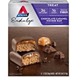 Chocolate Caramel Mousse Bar, 5 Bars, 1.2 oz (34 g) Per Bar by Atkins