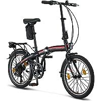 Licorne Bike CONSERES Premium Faltrad, Klapprad in 20 Zoll - Fahrrad für Herren, Jungen, Mädchen und Damen - 6 Gang…