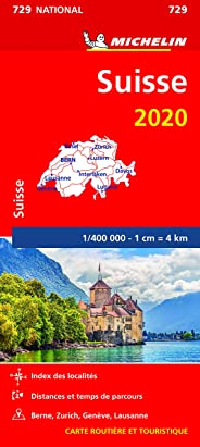 Carte Michelin Suisse 2020