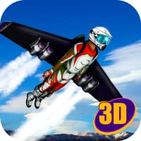 Skydiving Jetpack Air Race 3D