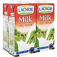 Lacnor Full Cream Milk - 1 Litre (Pack of 4)