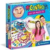 Clementoni Me Contro Te-Lui e Sofi Nail Art Kit, Set, Decora Unghie, Gioco Creativo Bambina 6 Anni+ (Versione in Italiano) -M