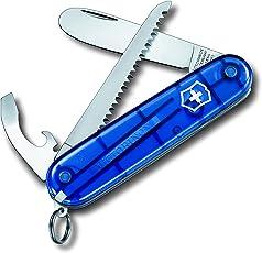 Victorinox Taschenmesser My First (9 Funktionen, Abgerundete Klinge, Kette und Kordel)