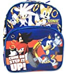 """Sonic the Hedgehog"""" Come On Step It UP!!"""" Mini 10 inches Backpack"""