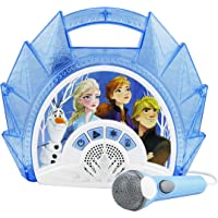EKids Frozen 2 Singalong Boombox Karaoke with Microphone
