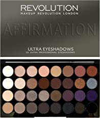 Makeup Revolution London Palettes Affirmation 32 Eyeshadow, 20g