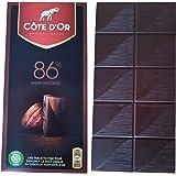 Cote d'Or Chocolate Extra Dark 86% | Belgian Chocolate Bars | Belgian Dark Chocolate Noir Intense | Cote d'Or Dark Chocolate | 3.5 Ounce