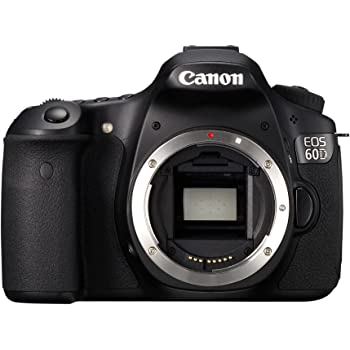 Canon EOS 60D SLR-Digitalkamera (18 Megapixel, 7,7 cm (3 Zoll) Live-View, Full-HD Movie) Gehäuse schwarz