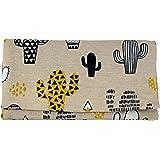 Plan B, Portasigarette Tabacco Trinciato, Yolo Cactus, 16 x 8,5 cm, 50 gr, con Borsa in Gomma EVA, Beige con Stampa