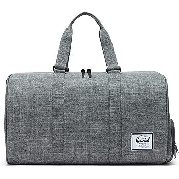 86e677e4a781 Herschel Travel Bowen 36 Litre Duffle Luggage Bag Raven Crosshatch ...
