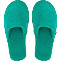 MF Home Footwear Women's House Soft Slippers Closed Toe comfortable Sole Bedroom Indoor Carpet Home Slipper