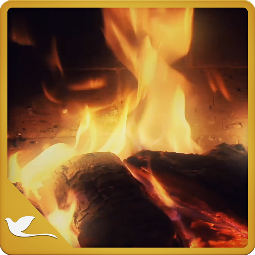 Calm Fireplace TV (Kindle Fire Background)