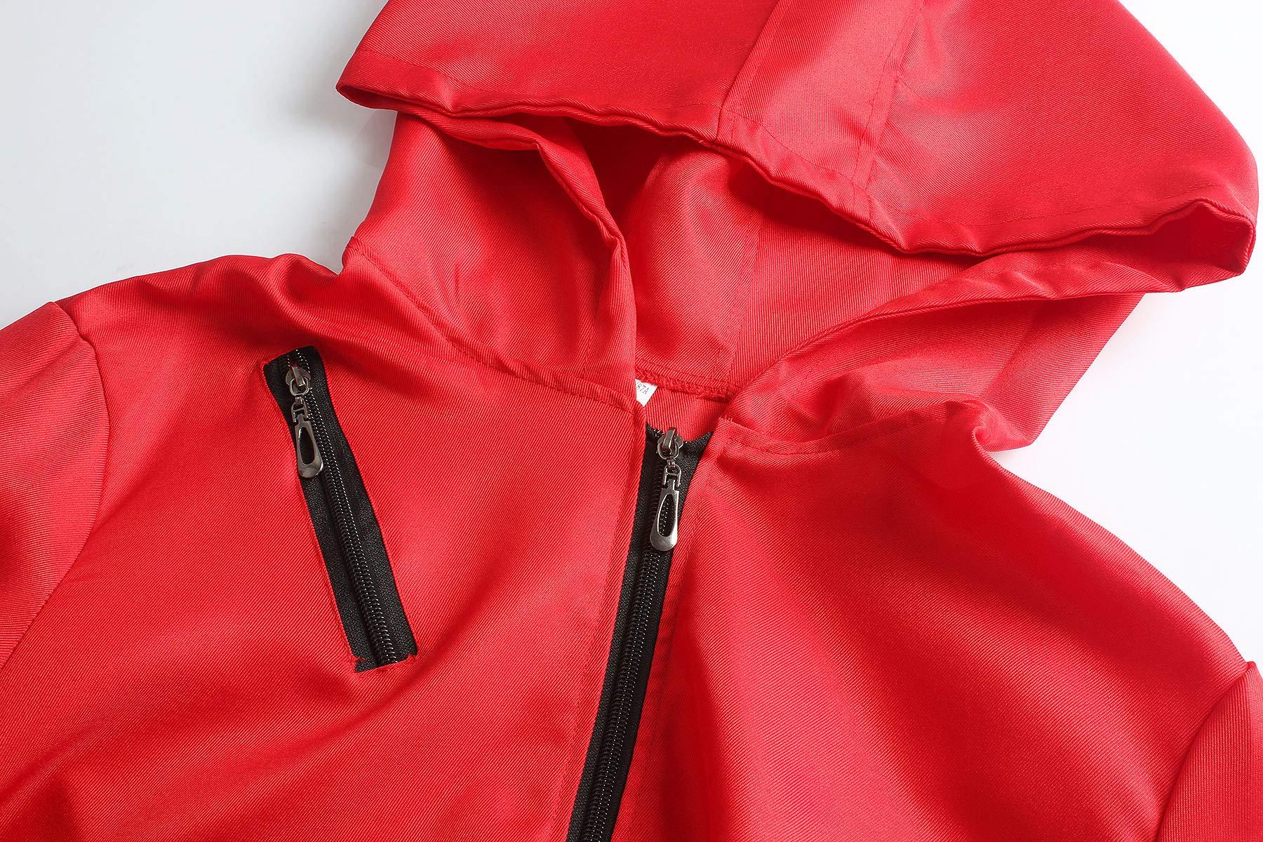 Matt Viggo Costumi La Casa di Carta Overall Donna Uomo Unisex Carnevale Costume con Maschera Dalí, Rosso, M (42) 3 spesavip