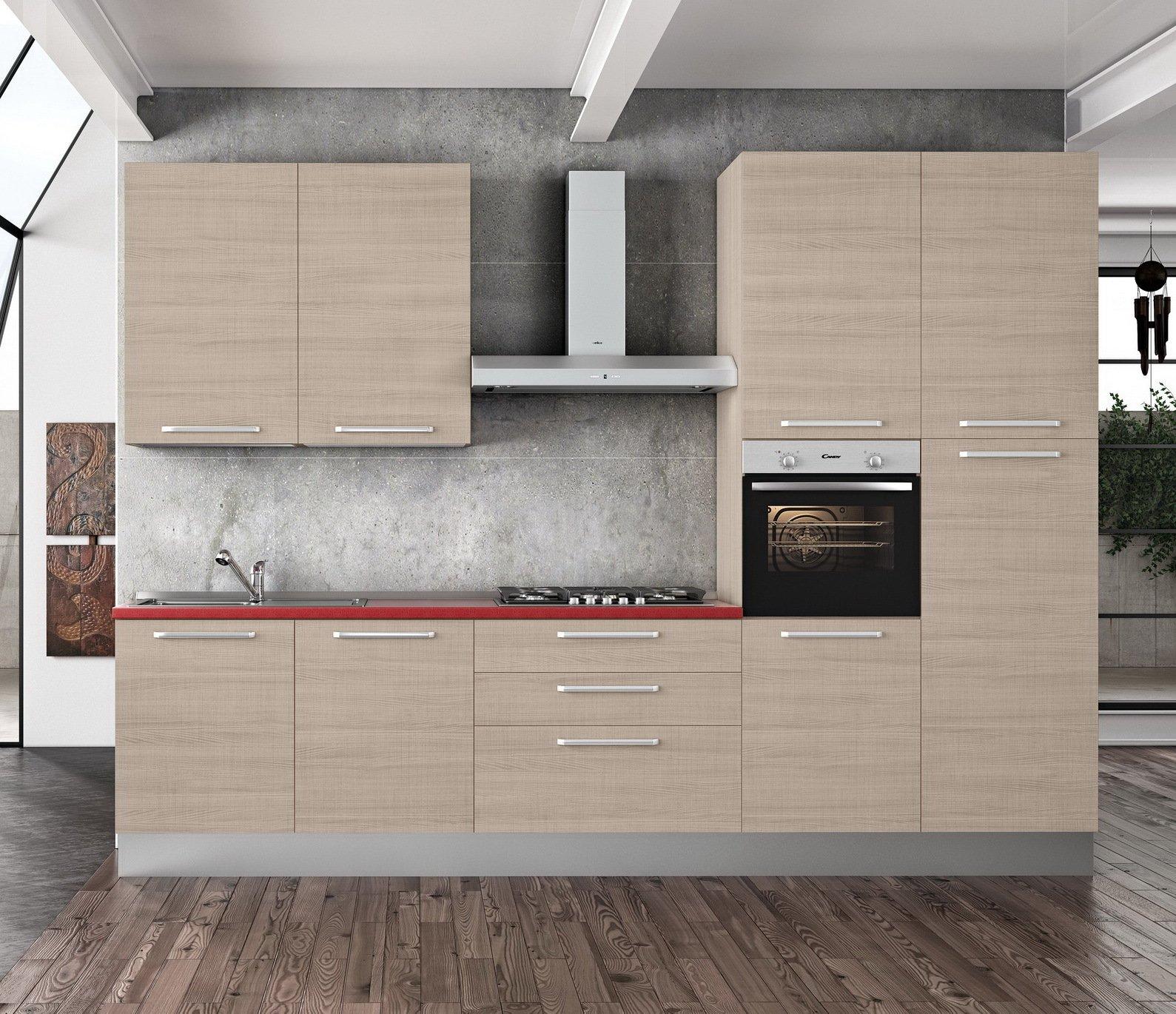 Tosend Servizi sas Pensile per cucina componibile cm L30 1 Anta ...