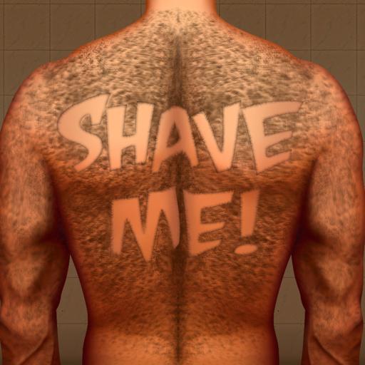 Hairy Back Shaving : The Tattoo Man Bear Hair Razor Shave (Soap-kit Spielen)