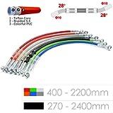 Motorcycle Hydraulic Brake Line Pipe Tube Braided oil hose - Black/400