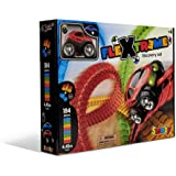 Smoby - Flextreme Discovery Set Pista 184 Pezzi, 4.4 m, 4 Anni, 7600180902WEB