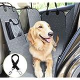 Pecute Coprisedile per Cani Posteriore Universale per Sedile dell'Auto per Animali Domestici Impermeabile Spesso…
