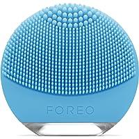 FOREO LUNA go spazzola esfoliante per il viso con funzione anti età per Pelli Miste, Ricaricanile tramite USB e…