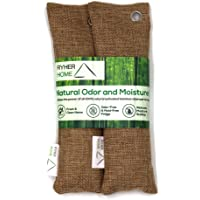 Ryher 2x Deodorante Scarpe a base di Carbone attivo di Bamboo - Deodorante Naturale elimina odori scarpe - Deodorante…