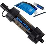 Sawyer Mini sistema di filtraggio acqua PointONE filter Outdoor & Trekking (SP105 Nero)