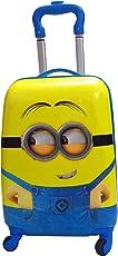 Parteet Cartoon Printed 46 cm ABS Hard Sided Kids Cabin Luggage - Trolley/Travel/Tourist Bags(Minion)