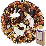 """N° 1409: Tè alla frutta in foglie """"Virgin Pina Colada"""" - 100 g - GAIWAN® GERMANY - tè in foglie, mela, rosa canina, ibisco, c"""