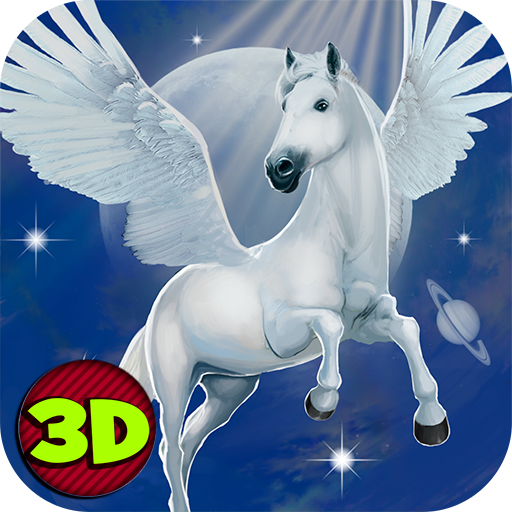 Flying Pegasus Survival Simulator 3D: Amazon co uk: Appstore