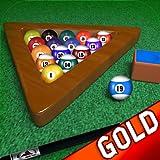 Billard Billardtisch unbegrenzte 8-Ball-Turnier: Einen schwarzen Kugel - Gold Edition