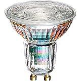 OSRAM LED SUPERSTAR PAR16 / Spot LED, Culot GU10, Dimmable, 5,5 W Equivalent 50W, 230 V, Angle : 36°, Blanc Chaud 2700K, Lot