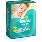 Pampers Taped Diapers, Small (SM), 22 count