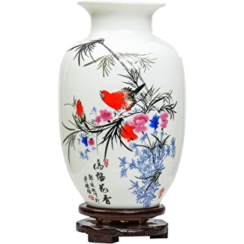 Jing Dezhen Blue and White Vase,Chinese Vintage Ceramic Vases,Ideal on flower box painting, flower bed painting, flower vases with flowers, modern palette knife painting, flower stand painting, frame painting, bottle flower painting, flower wreath painting, flower window painting, flower girl painting, candle painting, flower white painting, flower butterfly painting, flower oil paintings christmas, flower table painting, bird-and-flower painting, flower bowl painting, flower still life oil paintings, flower mirror painting, flower light painting,