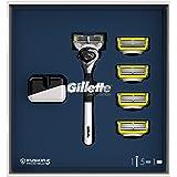 Gillette Fusion5 Proshield Rasoio da Uomo, 1 Manico 5 lamette di Ricarica, Edizione limitata