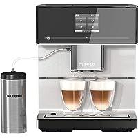 Miele CM 7350 Kaffeevollautomat (Smartphone bedienbar mit WiFiConnect, Kaffeemaschine für Bohnen, Pulver und Tee…
