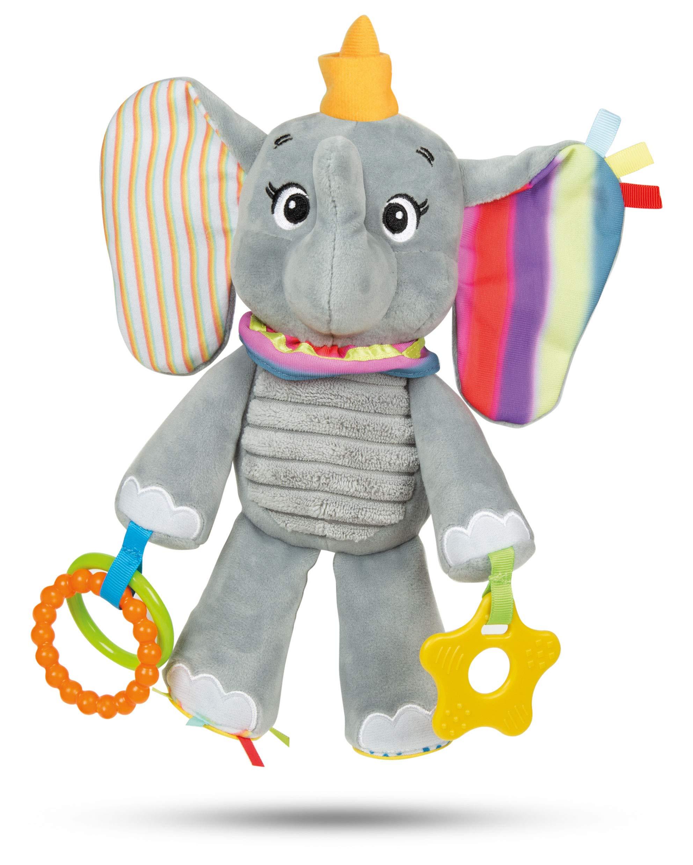 Clementoni 17297 Dumbo Felpa de Actividad