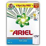 Ariel Matic Top Load Detergent Combo (Powder + Liquid) – 4 + 2 KG Washing Powder with 1 Liter Matic Liquid Free - Pantry
